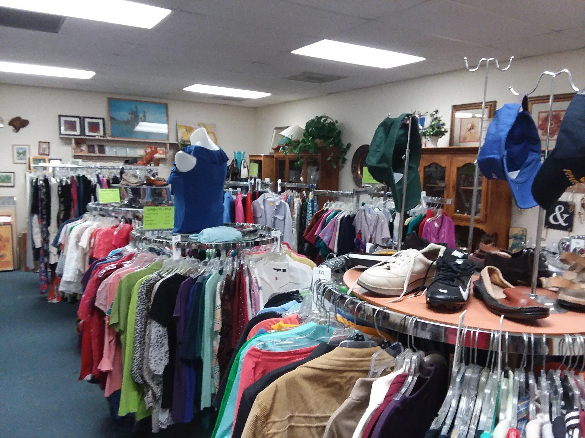 Sonora Columbia Jamestown thrift store